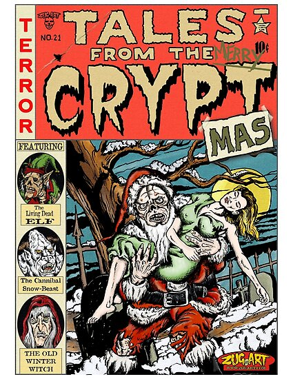 Merry Christmas / Tales From the Cryptmas by ZugArt