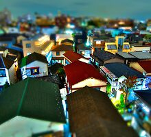 Nakano Residential Area by Guillaume Marcotte