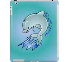 Leaping Dolphin iPad Case/Skin