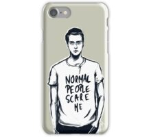 Simon Monroe In The Flesh Normal People Scare Me iPhone Case/Skin