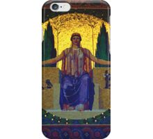 peace goddess iPhone Case/Skin