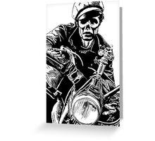 Zombie Brando Greeting Card