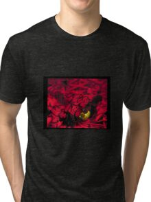 green in red Tri-blend T-Shirt