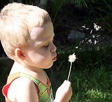 Blowing Dandelions by Seone Harris-Nair