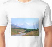 Mount Cook Highway Unisex T-Shirt