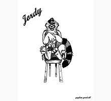 Jordy Sketch by Gaylene Goodshell Womens Fitted T-Shirt