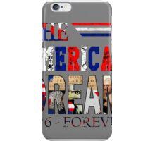 Fourth of July America iPhone Case/Skin