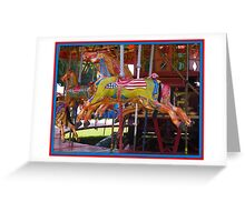 The Gallopers Greeting Card