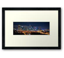 Perth Skyline Framed Print