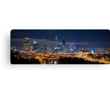 Perth Skyline Canvas Print