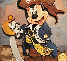 Pirate Mickey by ReedThis