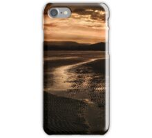 SUNSET AT LOW TIDE iPhone Case/Skin