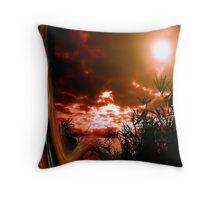 speed of light.... abstract dream Throw Pillow