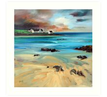 Tiree Shore Art Print