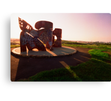 Sydney Park sculpture Canvas Print