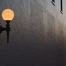 Lighted wall by Brad Waddell