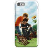 Then he walked back, where Will Solace was waiting iPhone Case/Skin