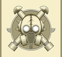 Art Deco Gasmask (retro) by Rustyoldtown