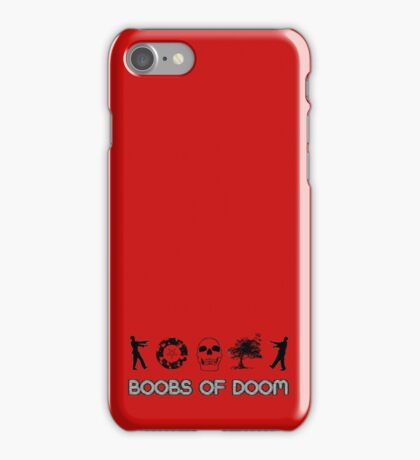 Boobs of DOOM: O-Cult Icons iPhone Case/Skin