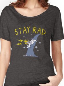 Stay Rad Wizard Women's Relaxed Fit T-Shirt