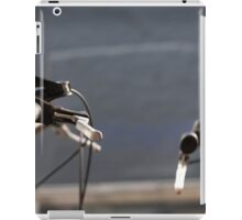 the creation of adam (with bikes) iPad Case/Skin