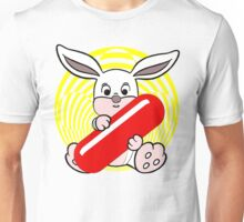 Follow the White Rabbit? Unisex T-Shirt