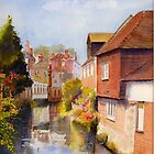 The Stour - Canterbury - Kent by Beatrice Cloake