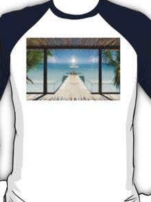 Sun Halo in the Seychelles T-Shirt