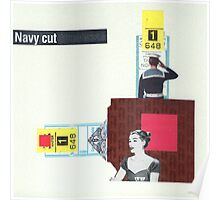Navy Cut Poster