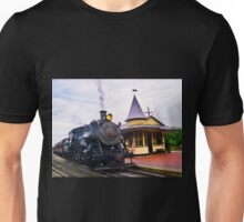 Locomotive Steam Engine Unisex T-Shirt