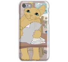 IS THAT CAT A WRITER? iPhone Case/Skin