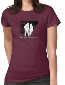 Boobs of DOOM 001 Womens Fitted T-Shirt