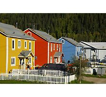 Yes, It's A Very Colourful Neighbourhood Photographic Print