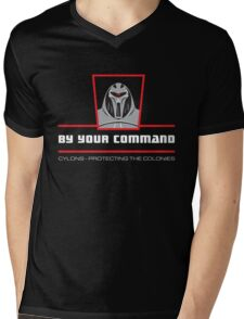 By your command Mens V-Neck T-Shirt