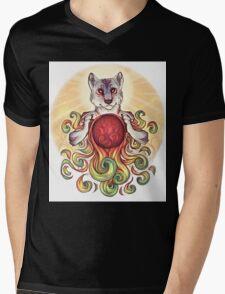 Solar Flare Mens V-Neck T-Shirt
