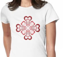Love is in the air! Womens Fitted T-Shirt