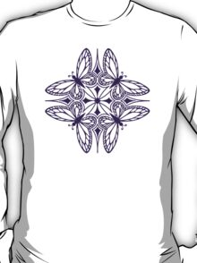 butterfly mandala - one flutter! T-Shirt