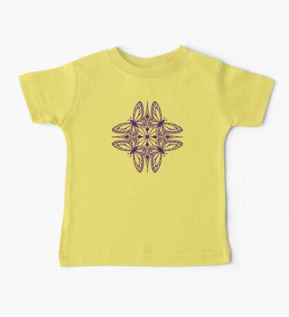 butterfly mandala - one flutter! Baby Tee