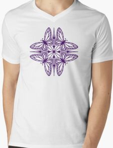 butterfly mandala - one flutter! Mens V-Neck T-Shirt