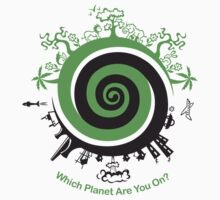 Which Planet Are You On? One Piece - Long Sleeve