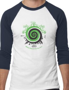 Which Planet Are You On? Men's Baseball ¾ T-Shirt