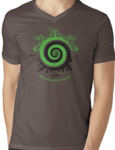 Which Planet Are You On? Mens V-Neck T-Shirt