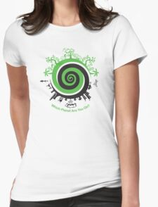 Which Planet Are You On? Womens Fitted T-Shirt