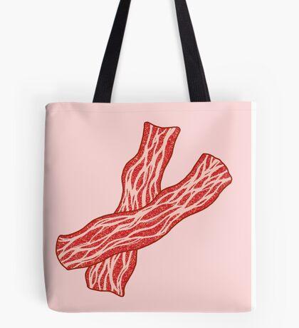 Glitter Bacon Tote Bag