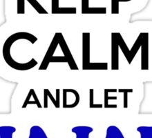 Keep Calm and Let HAJAR Handle it Sticker