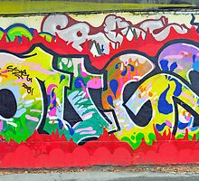 Colorful graffiti by lollored