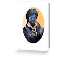 Athos in Pastel Greeting Card