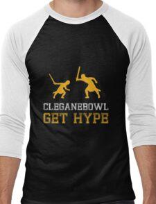 CLEGANEBOWL GET HYPE Men's Baseball ¾ T-Shirt