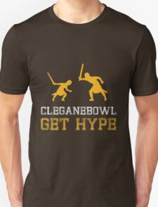 CLEGANEBOWL GET HYPE Unisex T-Shirt