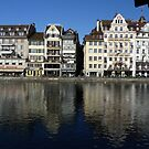 Lucerne' old town by Fran E.